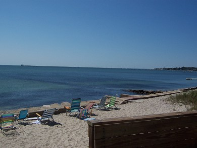 Hyannis Cape Cod vacation rental - Enjoy the private beach