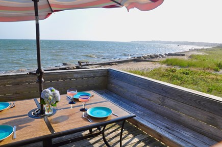 Hyannis Cape Cod vacation rental - You won't find a better table or view in any Cape Cod Restaurant