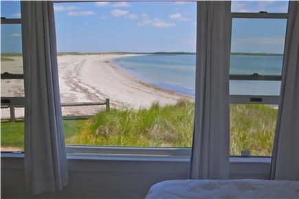 Hyannis Cape Cod vacation rental - Enjoy water views from windows in bedroom