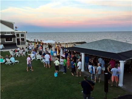 Dennisport Cape Cod vacation rental - Tiki Bar along the Ocean across the street