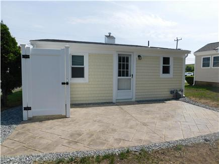 Dennisport Cape Cod vacation rental - Brand new patio and outdoor shower June 2016.