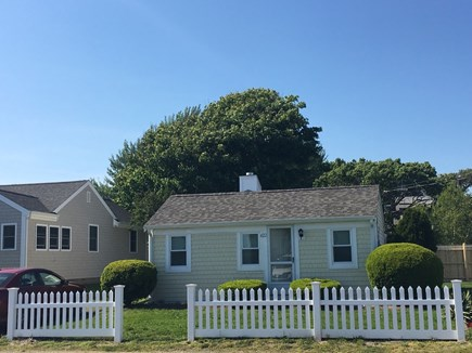 Dennisport Cape Cod vacation rental - Front view of the cottage