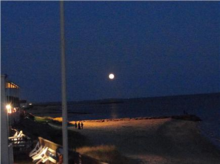 Dennisport Cape Cod vacation rental - View the full moon steps away from the cottage