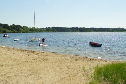 Eastham Cape Cod vacation rental - Fresh water swimming & boating- Great Pond 0.5 miles from cottage