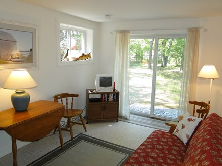 Eastham Cape Cod vacation rental - Lower level suite with living room, bedroom, bath and laundry