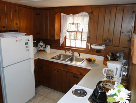 Eastham Cape Cod vacation rental - Kitchen area, adjacent to living room