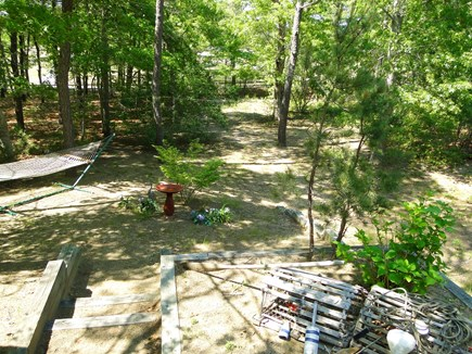 Eastham Cape Cod vacation rental - Large back yard with hammock and privacy