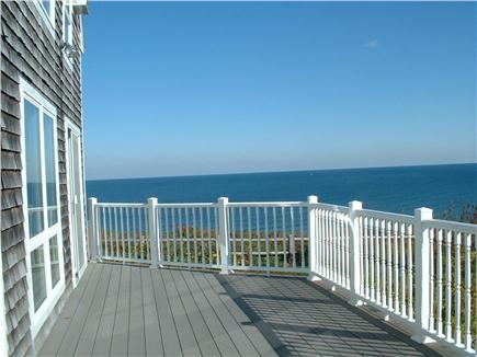 Sagamore Beach, Bourne Sagamore Beach vacation rental - South deck and View of Cape Cod Bay