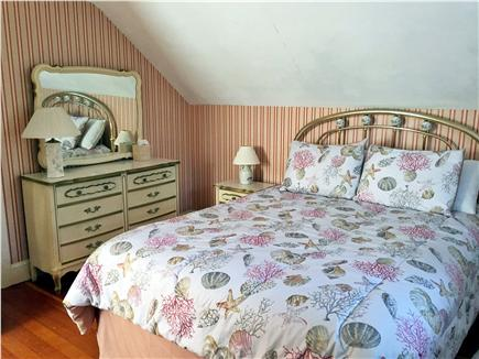 Dennisport Cape Cod vacation rental - Queen Size Bed in Second Bedroom on the Second Floor