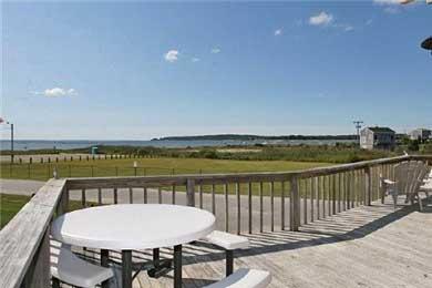 Wareham MA vacation rental - Huge Wrap-Around Deck
