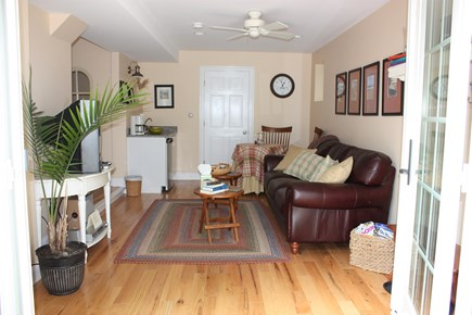 Wellfleet Cape Cod vacation rental - The cottage is 4 stories. The entry & den with wet bar.