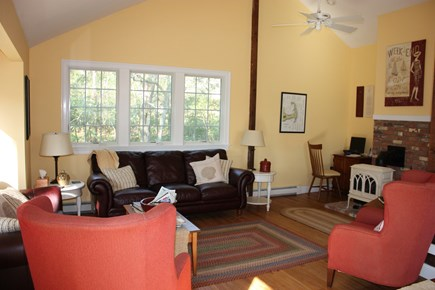 Wellfleet Cape Cod vacation rental - The 4th floor living room.