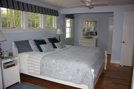 Wellfleet Cape Cod vacation rental - The 2nd floor master suite with king size bed.