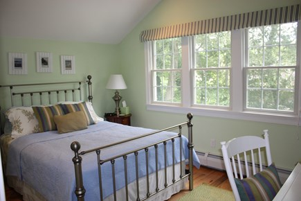 Wellfleet Cape Cod vacation rental - The 3rd floor bedroom with queen-size bed.
