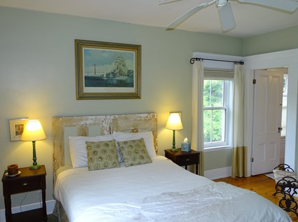 Eastham Cape Cod vacation rental - Main floor queen bedroom with A/C and bathroom