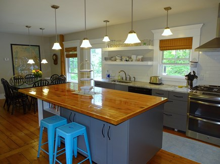 Eastham Cape Cod vacation rental - Modern well–stocked kitchen with upscale appliances