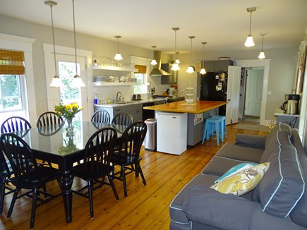Eastham Cape Cod vacation rental - Large open kitchen and dining area