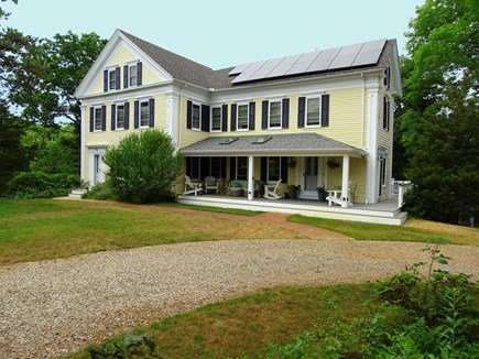 Eastham Cape Cod vacation rental - Four bedroom home set back with large front yard, walk to beach