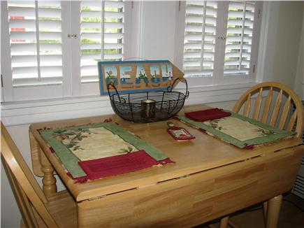 Hyannis, Barnstable Cape Cod vacation rental - Dining area