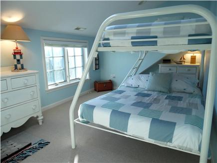 Barnstable Village Cape Cod vacation rental - Bunk bedroom with a view toward the light house