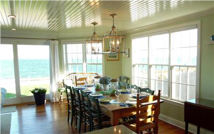 Barnstable Village Cape Cod vacation rental - Back upstairs for a cool drink while you relax and enjoy the view