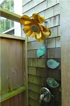 Truro Cape Cod vacation rental - Enclosed outdoor shower