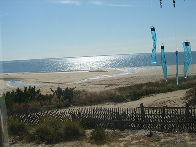 Wellfleet Cape Cod vacation rental - Bay window view