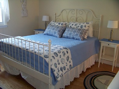 East Falmouth Cape Cod vacation rental - Queen Bedroom with View