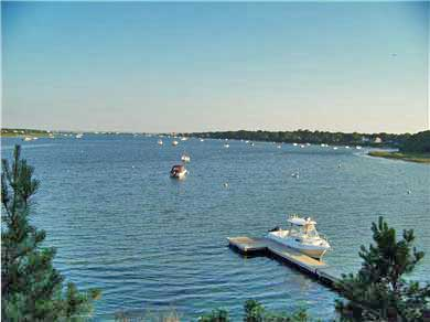 East Falmouth Cape Cod vacation rental - Private Dock for 25' Boat