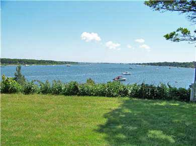 East Falmouth Cape Cod vacation rental - Walk down stairs to Private Dock and Beach