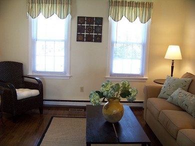 East Falmouth Cape Cod vacation rental - Library with Pull-out Sofa