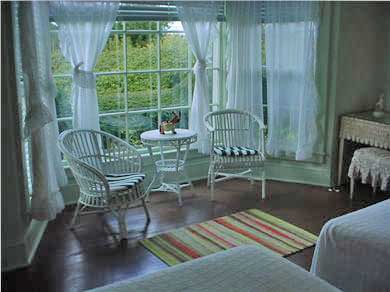 Woods Hole Woods Hole vacation rental - Guest suite opening onto sunny terrace