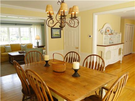 Osterville Osterville vacation rental - Living room opens to Dining room, seats 6-8