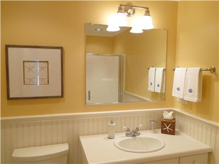 Osterville Osterville vacation rental - Newly refinished bathroom with shower