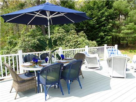 Osterville Osterville vacation rental - Enjoy a seafood dinner outside - private back yard