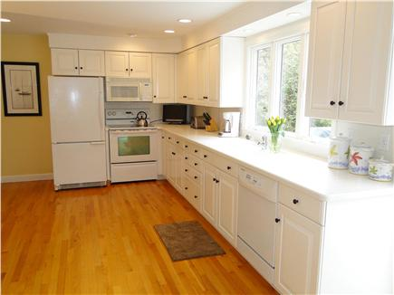 Osterville Osterville vacation rental - Bright, fully stocked kitchen with small HDTV