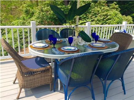 Osterville Osterville vacation rental - Private setting for outdoor dining!