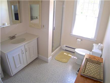 Brewster Cape Cod vacation rental - One of three full baths, two on main level, one upstairs