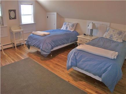 Brewster Cape Cod vacation rental - Upper level has two twin bedrooms and a full bath.