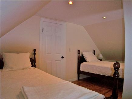 Brewster Cape Cod vacation rental - Here's the final bedroom, with twins.