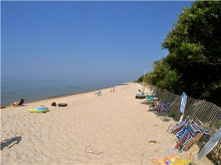 Brewster Cape Cod vacation rental - You're living on the beach -- enjoy the sunsets over the Bay!