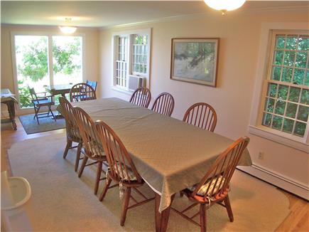 Brewster Cape Cod vacation rental - Big dining table and chairs -- plenty of room for everyone.