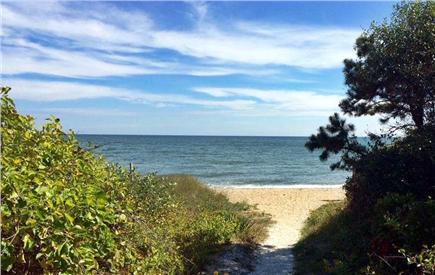 New Seabury, Mashpee, Poppy New Seabury vacation rental - Walk beach carts (provided) 3 min onto pristine private beach
