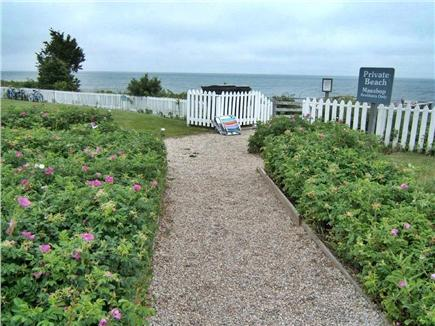 New Seabury, Mashpee, Poppy New Seabury vacation rental - 3-minute walk via cart path or stairs to pristine, private beach