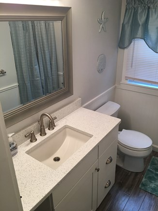 New Seabury, Mashpee, Poppy New Seabury vacation rental - 3BR: Full Bath #2 w/Quartz Counters, Tile/Stone Shower