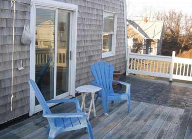 Dennis Cape Cod vacation rental - Upstairs deck