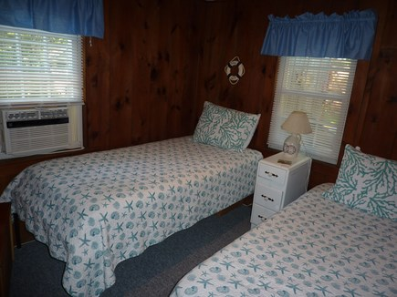 Dennis Port Cape Cod vacation rental - Twin Bedroom w/AC