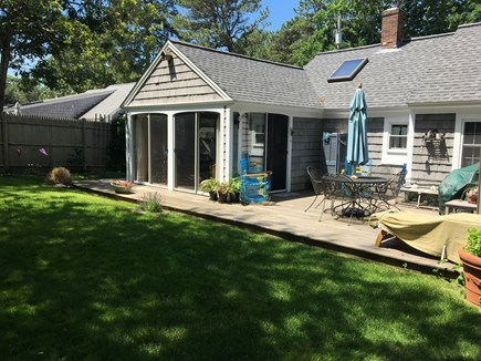 Dennis Port Cape Cod vacation rental - Back Deck