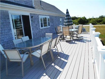Dennis Cape Cod vacation rental - Deck for your enjoyment!