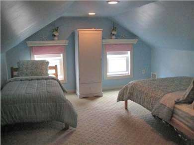 Harwich Port Cape Cod vacation rental - Upstairs bedroom - double and twin